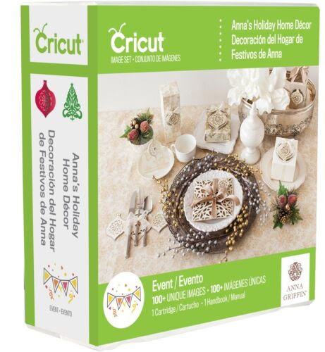 Scrapbooking Paper Crafts Cricut Anna S Holiday Home Decor Cartridge New Christmas Ornaments Gift Box Crafts Mbln Org