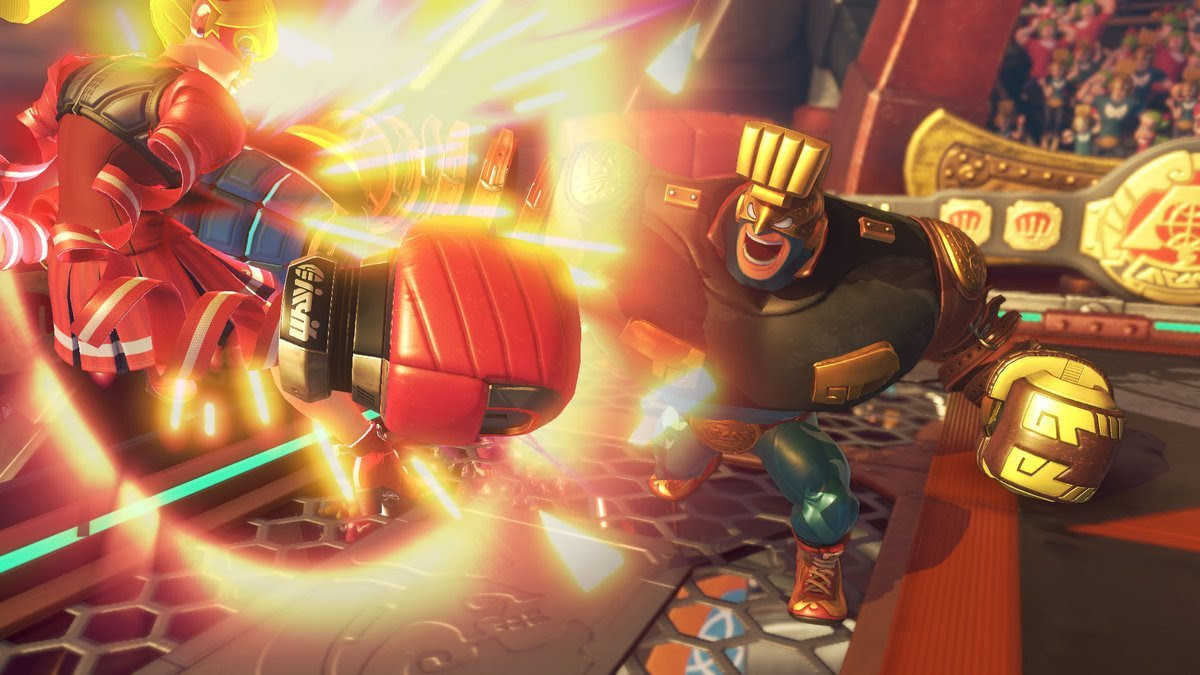 ARMS' new character looks like an F-Zero racer screenshot