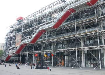 Los trabajadores del Pompidou no quieren ser funcionarios