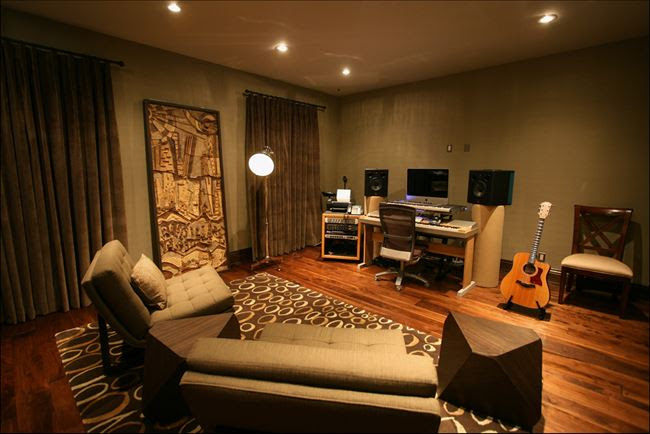 Furnishing a musical room | Minimalisti.