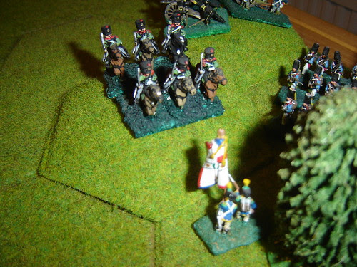 Those valiant French infantrymen continue to hold out against Prussian attacks