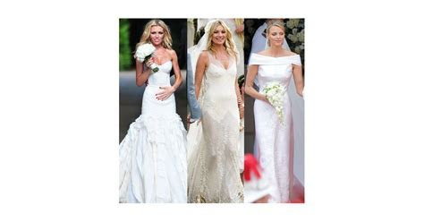 Abbey Clancy, Kate Moss and Charlene Wittsock Wedding