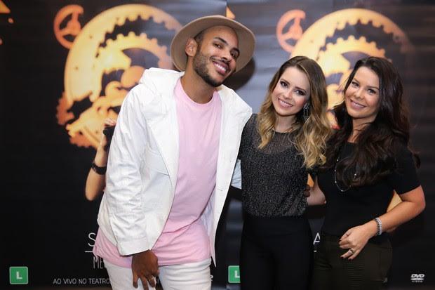 Sandy e Fernanda Souza (Foto: Manuela Scarpa/Brazil News)
