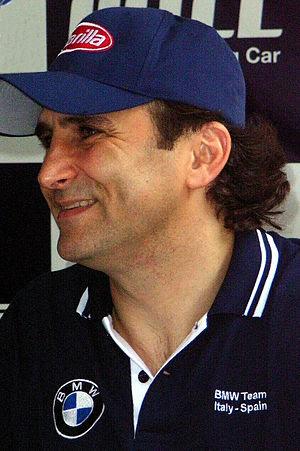 Alessandro Zanardi (BMW Team Italy/Spain) in C...