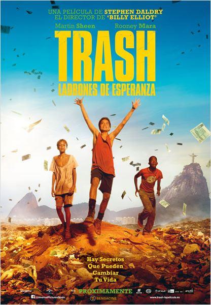 Trash. Ladrones de esperanza : Cartel
