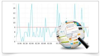 Gunakan site24x7 untuk monitoring web Anda..
