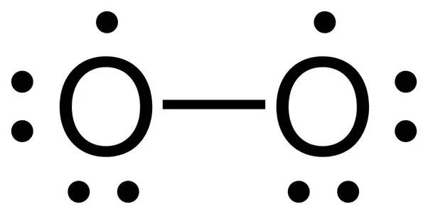 lewis dot diagram for o2