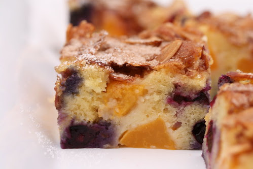 Peach Blueberry Buckle