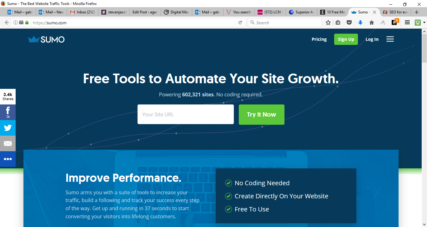 50 Free Marketing Tools Any Small Business Can Use - SumoMe