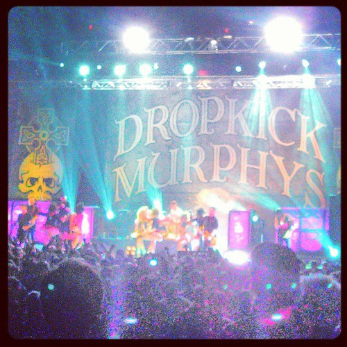 #dropkickmurphys at the Garden!