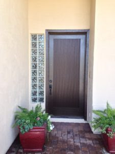 Specialty areas such as entryways require special care from a professional house painter   866-802-0640