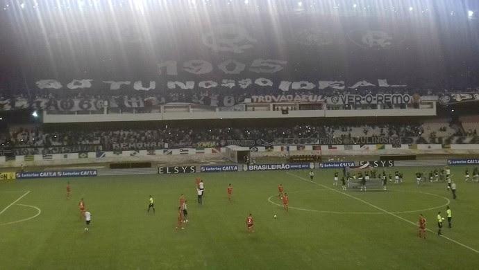 Remo x América-RN Estádio Mangueirão Série C (Foto: Reprodução/Twitter)