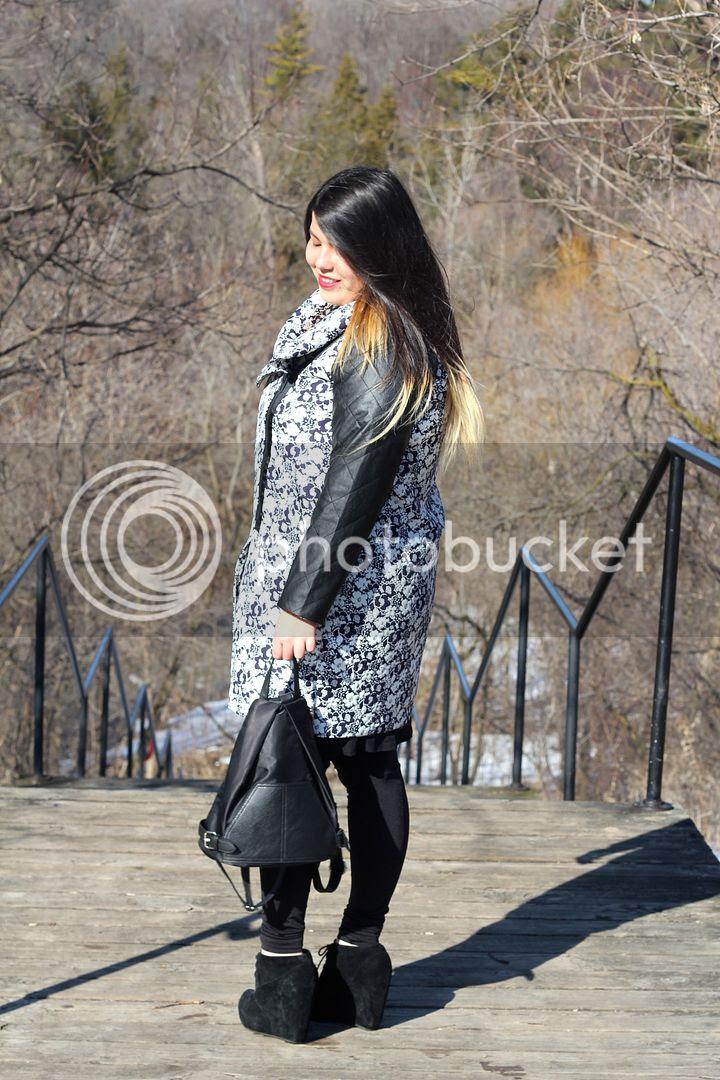 Carmakoma medina 4 plus size fashion spring 2015 fat fashion jacket dress leggings transitioning toronto canada