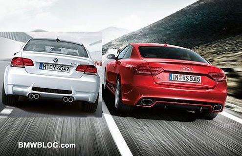 Audi  on Audi Rs5 Vs Bmw M3 The War Rages On 2011 Bmw Frozen Gray M3 Coupe Just