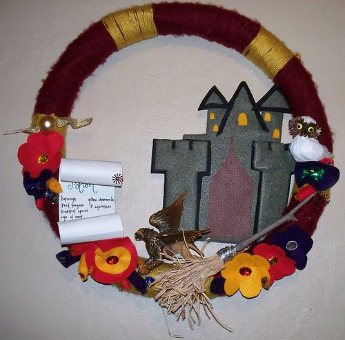 Harry Potter wreath