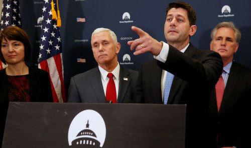 Trumpis blowing up Paul Ryan's agenda