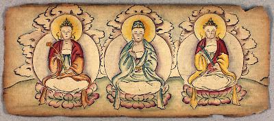 20th century Tibetan sketch