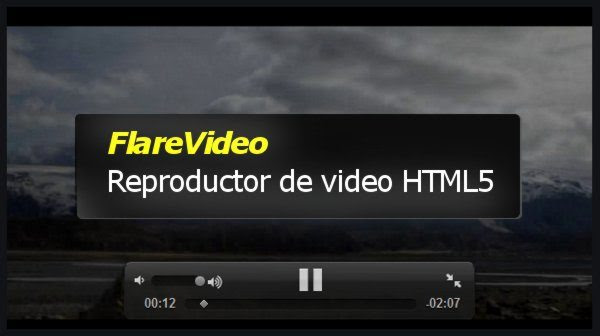 FlareVideo – Reproductor de Video HTML5