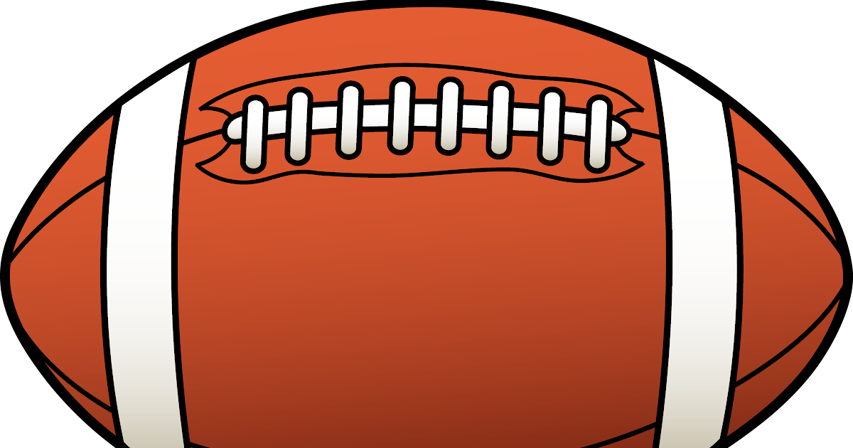 Football: Football Clipart Black And White Clipart Panda ...
