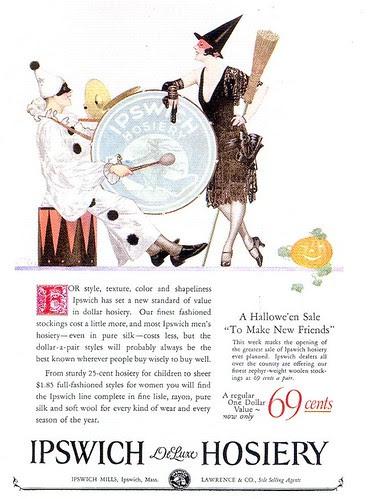 Ipswich Hosiery ad, 1925
