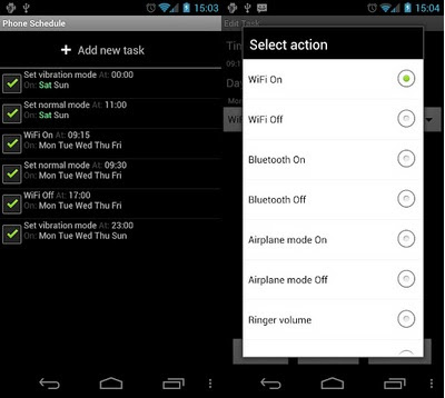 Mode Diam Otomatis Di Android Automatic Profile Android