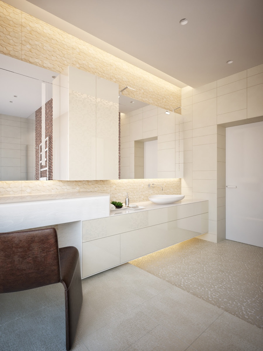 27 nice ideas and pictures of natural stone bathroom wall ...