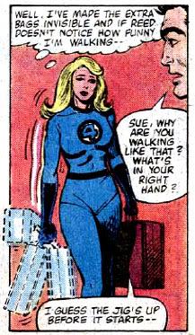 Fantastic Four #227 panel