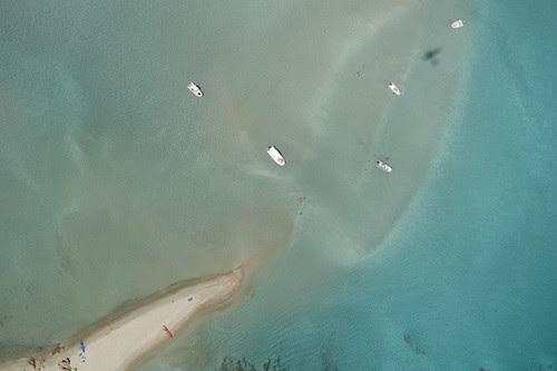 le banc de sable de Piantarella