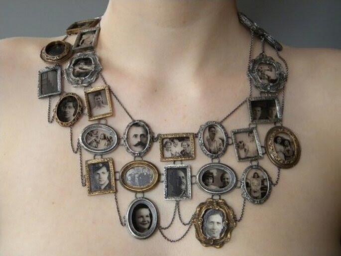 Collar genealógico de Ashley Gilreath. Foto: Ashley Gilreath.
