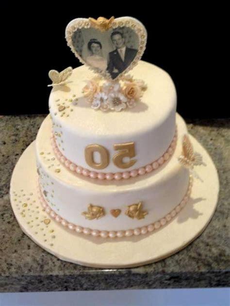 Golden wedding anniversary cake ideas   idea in 2017