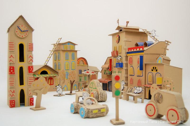 karton-ev-minyatur