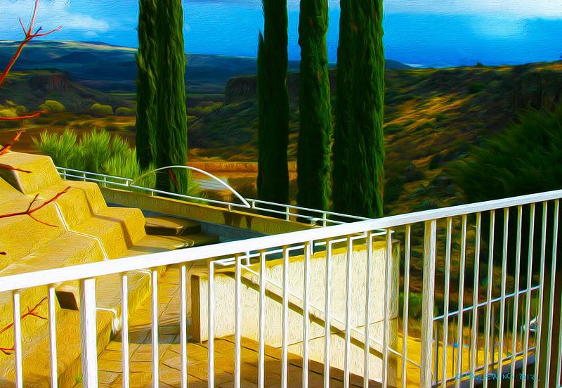 Arcosanti Terrace