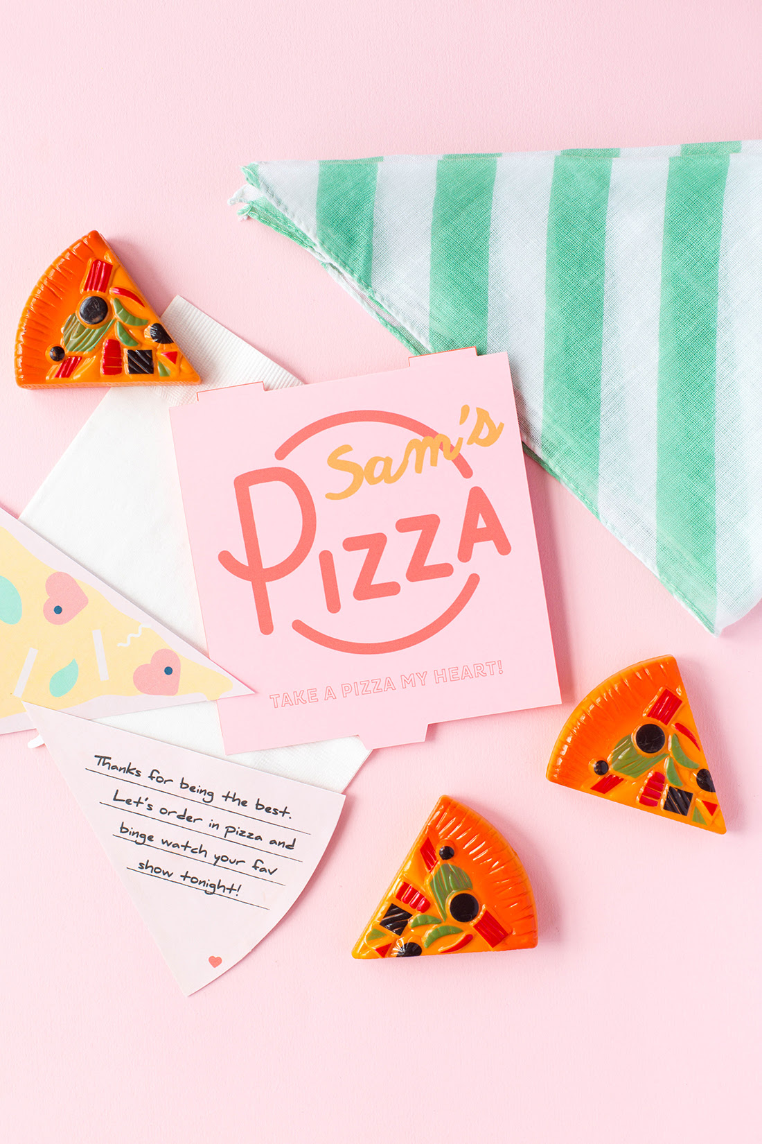 Pizza puns and valentines @michellepaigeblogs.com