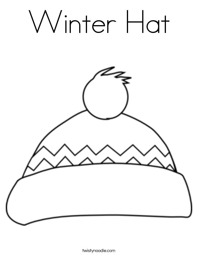 Free Printable Winter Hat Mandala Coloring Page For Kids Preschool Crafts