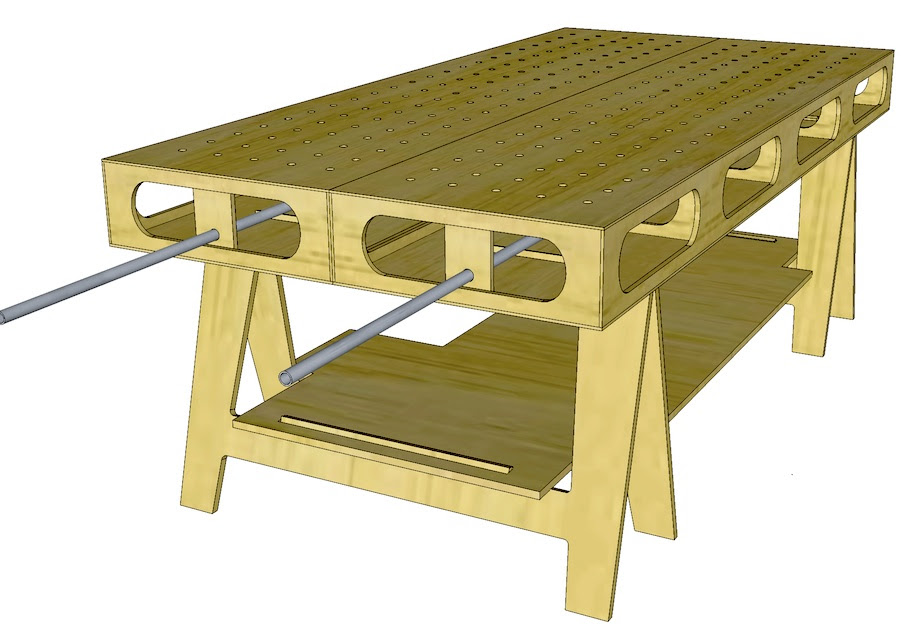 The Ultimate Work Bench | THISisCarpentry