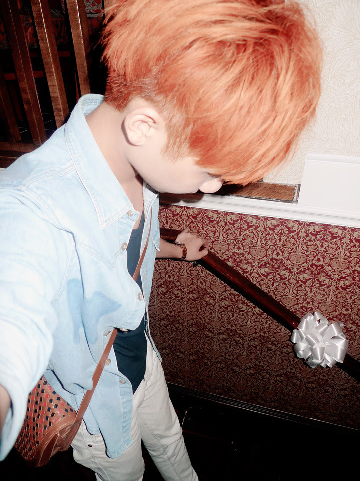 typicalben with orange red hair colour