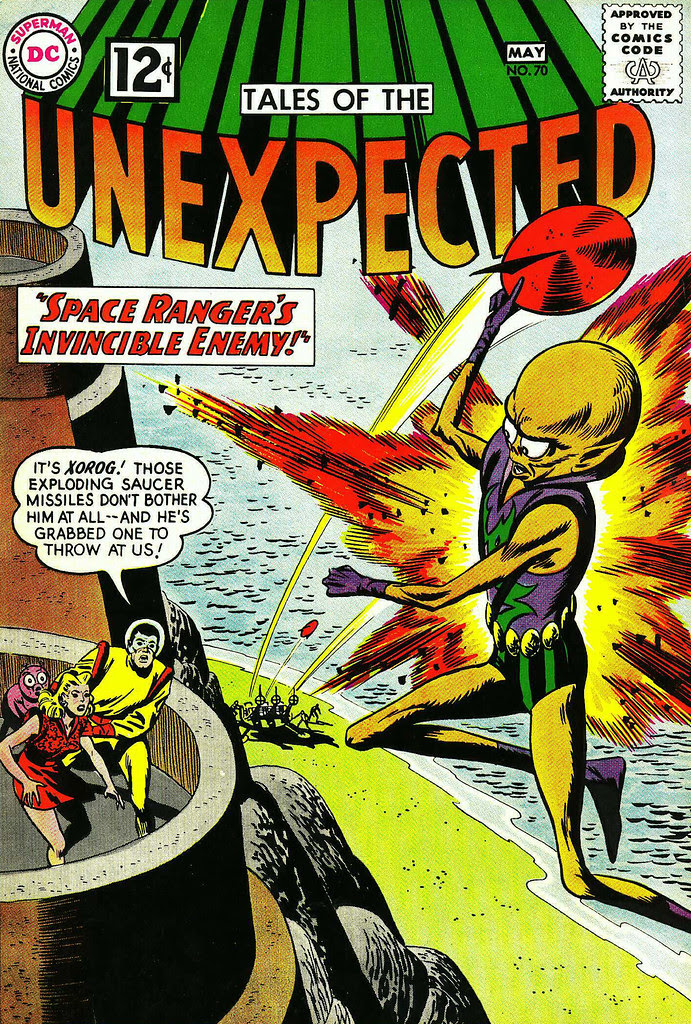 Tales of the Unexpected #70 (DC, 1962) Bob Brown cover
