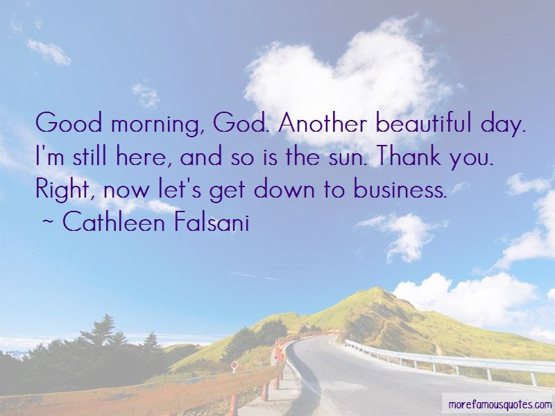 Quotes About Good Morning God Top 41 Good Morning God Quotes From