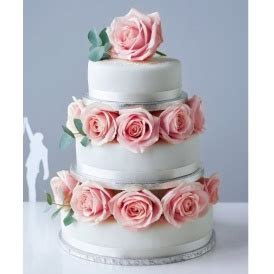 3 Tier Sponge Wedding Cake Just £54 @ Marks and Spencer