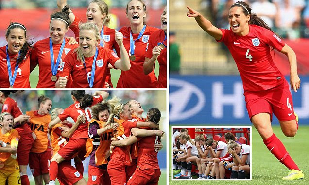 England Women's World Cup team win unprecedented bronze medal at World Cup