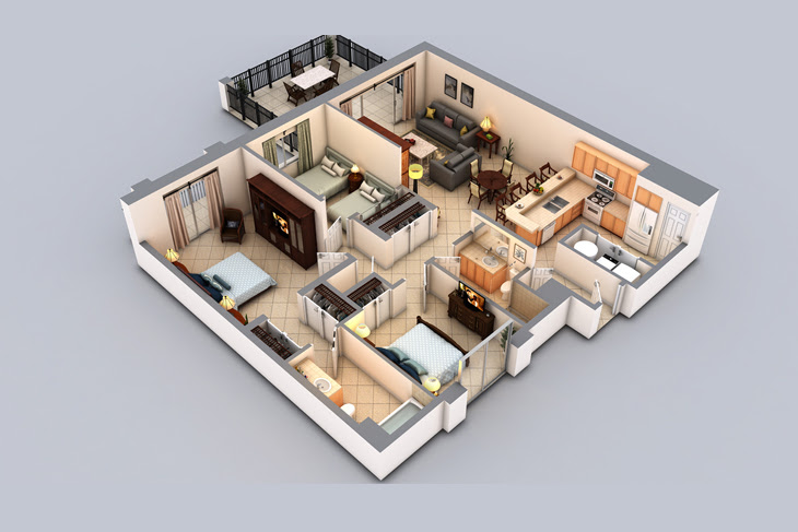 3d Floor Plans 3d House Plan Customized 3d Home Design 3d House Design 3d House Map