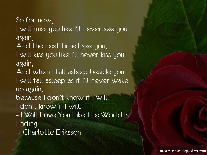 You Will Never Miss Me Quotes Top 38 Quotes About You Will Never