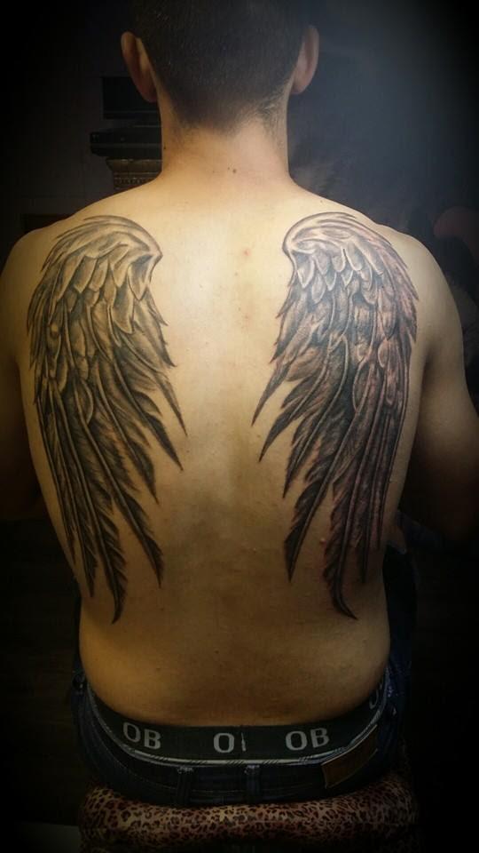Tatuaje Alas En Espalda Gattoostudio