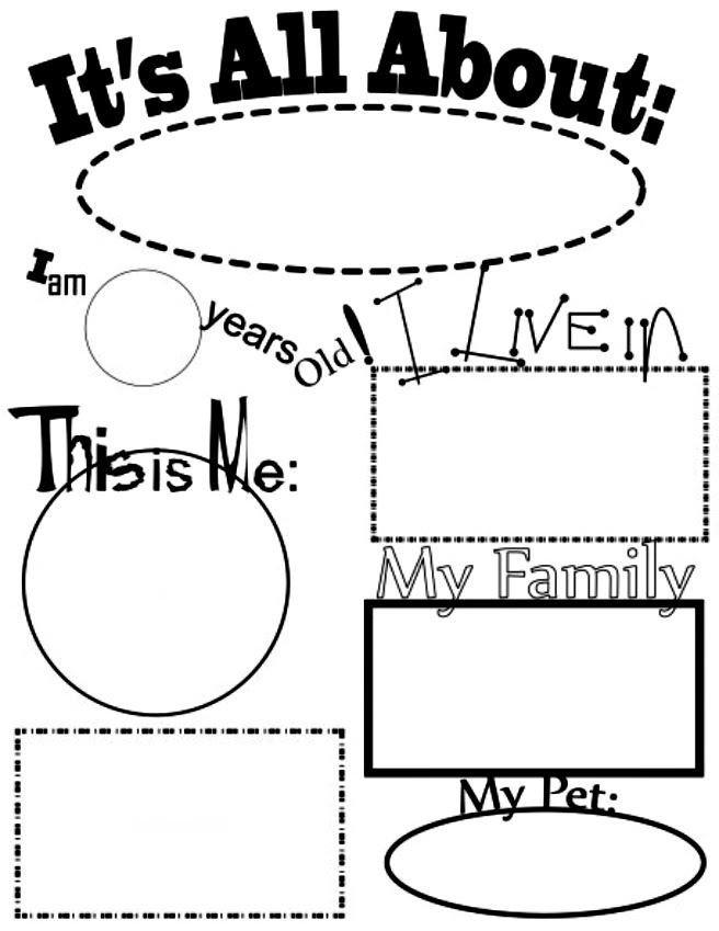 32 All About Me Worksheet Kindergarten - Free Worksheet Spreadsheet