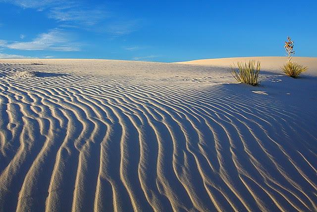 IMG_1543 Ripples at Sunrise, White Sands National Monument