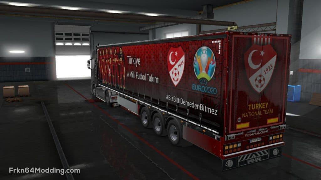 TURKISH SUPER LIG TEAMS TRAILER PAINT JOBS PACK V1.1 ETS2 ...