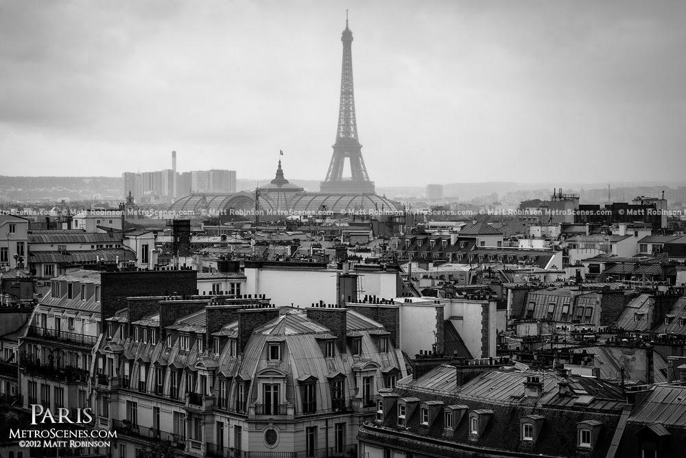 Black And White Paris France Scene Metroscenescom Paris France