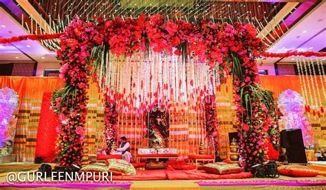 A traditional Mandap designed for a special wedding at the