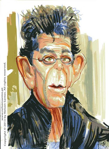 Lou_Reed by caricaturas
