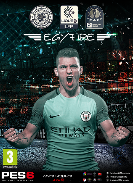 PES 6 EgyFire Patch For Season 2017/2018